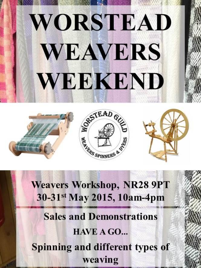 Worstead weavers weekend poster 2015 (2)