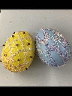 lace eggs