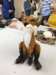 needlefelt fox
