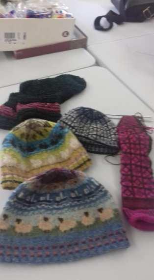 shetland wool week hats